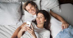 B型男性とO型女性のカップルは相性が良い